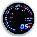 Depo Racing combined digital + analog 52mm boost gauge -1~2 bar SLD5201B