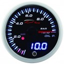 Depo Racing digital + analog 0~10bar oil pressure gauge SLD5227B