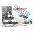 BMW M5 E34 3.6 S38 Wiseco forged pistons kit CR 8.0 94mm KE240M94