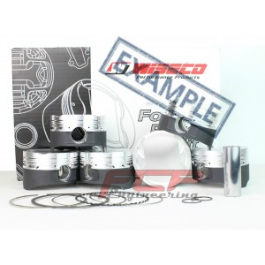 FCP-engineering - BMW 2 5 M20 forged Wiseco pistons CR 8 8