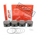 VW / Seat 2.0 16V ABF FCP forged pistons kit 83.5mm CR 13.0