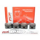 Opel 2.0 Turbo Z20LET/LEH/LER Y20LET FCP forged pistons CR 8.5 86.25mm