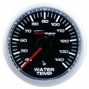 Depo Digital 52mm water temperature gauge black dial & transparent lens