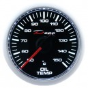 Depo Digital 52mm oil temperature gauge black dial & transparent lens