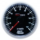Depo racing Digital 52mm exhaust gas temperature gauge black dial & transparent lens
