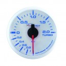 Depo Racing Digital 52mm boost gauge -1~2 bar transparent lens
