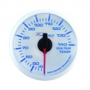 Depo Racing Digital 52mm water temperature gauge transparent lens