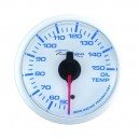 Depo Racing Digital 52mm oil temperature gauge transparent lens