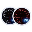 Depo Racing Digital + Analog exhaust gas temperature gauge, smoked lens