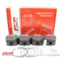 Opel 2.0 16V Turbo C20LET C20XE FCP forged pistons CR 8.5 87mm