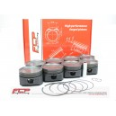 Audi RS6 4.2 40V V8 BITURBO FCP forged pistons CR 8.5 84.5mm