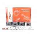 Opel 1.6 16V Turbo Z16LET FCP forged pistons CR 8.7 80mm